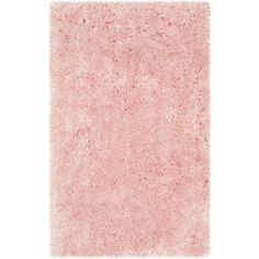 Artic Shag Pink Area Rug Reviews