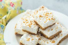 Pineapple Squares Recipe is delicious, tasteful and yammi dish. Pineapple Squares Recipe can be made in less than few minutes with the help of Pineapple Squares, Baked Pineapple, Pineapple Desserts, Crushed Pineapple, Summer Desserts, No Bake Desserts, Dessert Recipes, Dessert Ideas, Healthy Sweets