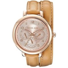 b20d41d5e105 Pre-owned Michael Kors Kohen Watch ( 156) ❤ liked on Polyvore featuring  jewelry