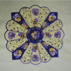 Dresden with embroidery