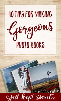 Looking for tips on how to make a photo book that doesn't look just like everyone else's? Here are my top 10 favorite ways to take your photo books from run-of-the-mill to true works of art your family will treasure for generations to come. Make A Photo Book, Diy Photo Books, Memory Photo Books, Best Photo Books, Make A Book, Take A Photo, Make A Photo Album, Shutterfly Photo Book, Blurb Photo Book