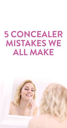 how to use concealer correctly #beauty #makeup