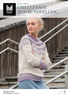 1506: Design 6 Kjole med hullmønster #Mandarin #bomull #cotton