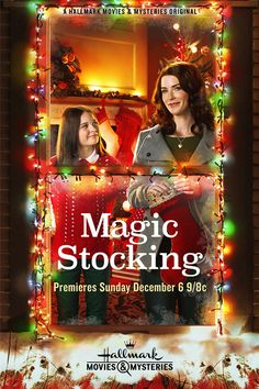 "Its a Wonderful Movie - Your Guide to Family Movies on TV: ""The Magic Stocking"" on Hallmark Movies & Mysteries"