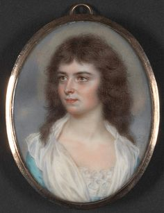 John Smart, 1741–1811, British, Portrait of a Young Lady, 1788, Gouache and watercolor on ivory, Yale Center for British Art, Paul Mellon Collection