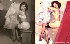 The history of Pin-up » Biskvitka.net
