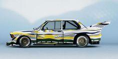 La BMW Art Car de 1977 au Centre Pompidou