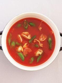 トマトジュースが大活躍。|『ELLE a table』はおしゃれで簡単なレシピが満載!