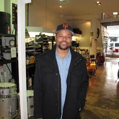 Nasheet Waits, in town for the Melbourne International Jazz Festival, visits Revolver Drums.