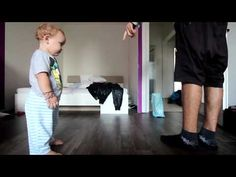 2 year baby #break #dancing with #dad - YouTube #epic #kids #funny