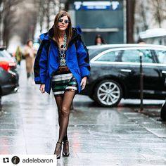 #Repost @adelebaron with @repostapp ・・・ @anna_dello_russo wearing @balenciaga @prada @the_attico arriving at @giambattistavalliparis 😍😎💎💙 . . . . #annadellorusso #pfw17 #AW17 #fashionphotography #whowhatwear #fashionphotographer #theattico #outfitoftheday #styleblogger #styleoftheday #highfashion #fblogger #lookoftheday #lookbook #balenciaga #giambattistavalli  #fashionmodel #streetstyle #shotoftheday #blogger #modelstyle #vogue #agameoftones #currentlywearing #moodygrams #streetwear…