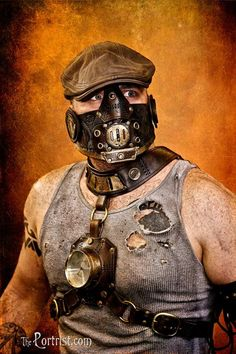 Steampunk Bane. This one is a winner.