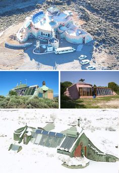 earthships.Choices, your own design and ideas can be implimented in full what else could you ask for