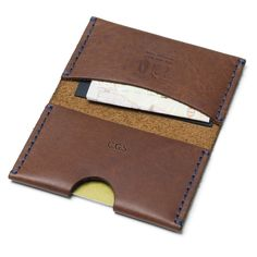 Personalised Leather Bi-fold Card And Note Wallet | Man Gun Bear £42    A luxury leather bi-fold wallet, offering card and note space, and the option of personalisation.    https://mangunbear.com/collections/personalised-mens-leather-wallets/products/personalised-leather-bi-fold-card-and-note-wallet    #wallet #mensaccessories #mangunbear