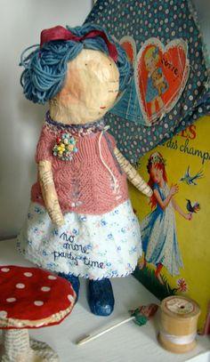 Jamie Harper Studio: Studio tour ~ Julie Arknell doll