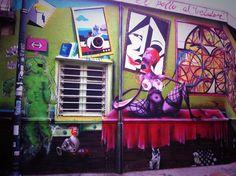 """""""I mille colori di Valpo"""" 2° riScatto urbano (Valparaiso, Cile) di Manuela @fremebonda. Saranno conteggiati i RT al seguente tweet: https://twitter.com/fremebonda/status/371950114266284032"""