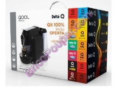 Maquina de Café Delta Q com oferta de 150 capsulas - Rádio Popular VS Worten