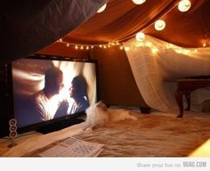 Funny pictures about Spread The Blanket Fort Love. Oh, and cool pics about Spread The Blanket Fort Love. Also, Spread The Blanket Fort Love photos. Chill Lounge, Chill Room, Cozy Room, Do It Yourself Inspiration, Build A Fort, Up House, Attic House, Where The Heart Is, Build Your Own