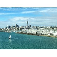 """""""Ripper of a day in Auckland, the city of sails. 🇳🇿☀️⛵️ . . . #auckland #akl #cityofsails #travel #travelblogger #livingabroad #tourlife #bay #harbor #sails #sail #sailing #sailboat #nz #newzealand #aotearoa"""" by @hoodytime. #fashionbloggers #bbloggers #fbloggers #blogs #bblogger #beautyblog #beautybloggers #instagramers #roadtrip #여행 #outdoors #ocean #world #hiking #lonelyplanet #instacool #instafollow #like4follow #spamforspam #likeforlikes #spam4spam #likes4likes #recent4recent…"""