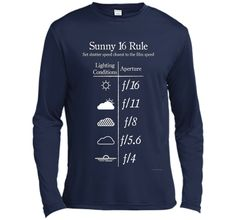 Sunny 16 Rule - White tshirt