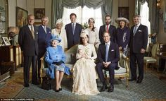 Christening of Prince George at Clarence House October 24, 2013.
