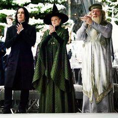 Hogwart's Professors pendant le bal de la coupe des 3 sorciers