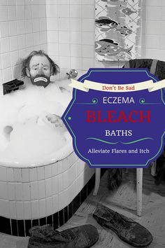 Eczema Treatment Bathing in Bleach Bleach baths can be an incredibly effective part of your eczema treatment plan It can help with flare itch and infection Severe Eczema, Eczema Psoriasis, Bleach Bath, Laser Eye Surgery Cost, Eczema Relief, Reduce Cellulite