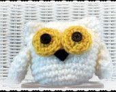 Hedwig Harry Potter Owl Amigurumi