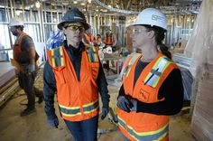 Construction firms across Colorado are looking to hire more women.