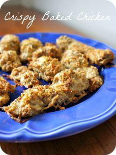 Recipe for Crispy Baked Chicken