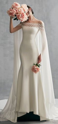 Simple Wedding Dresses Inspired by Meghan Markle - Ines Di Santo