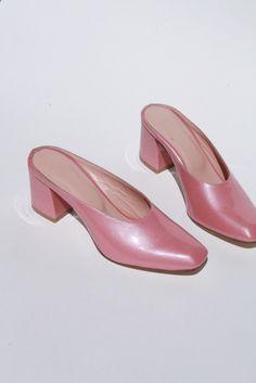 MARYAM NASSIR ZADEH   Maryam Mule - Pink Sparkle