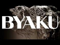 "Paper Cut Sculpture -- Byaku (2013) Swimming Polar Bear -- Official Promo Film ""I'm fascinated by how much can be expressed using only a single sheet of paper."""