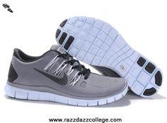 Grey Black 579959-188 Mens Nike Free 5.0 For Wholesale
