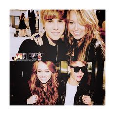 Jiley found not made by Haley ❤ liked on Polyvore featuring jiley, justin bieber and miley cyrus