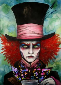 Mad Hatter by =PixieCold
