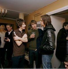 Alex Turner (Arctic Monkeys), Alex Kapranos (Franz Ferdinand) & Julian Casablancas (The Strokes)