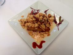 Chef's Creations @Veranda E - Hot-n-Crunchy Grouper Sautéed with Almonds, Sesame Seeds, Ginger and Chili Flakes  with Mango Chutney Sauce and Tropical Rice.