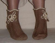 HAND KNITTED SOCKS/Women Socks/Cold Season by DaceZaharova on Etsy, £21.99