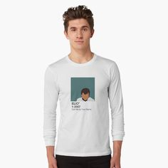 'Call Me by Your Name - Elio' T-Shirt by fictiophilia Girl Back, Fandom Outfits, Your Name, Graphic Sweatshirt, T Shirt, Call Me, Female Models, Shirt Style, Long Sleeve Tees