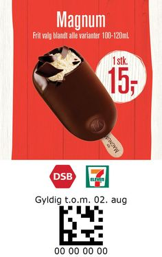 7-Eleven and DSB Denmark 7 Eleven, Denmark, Coupons, Coupon