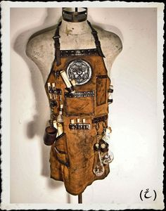 Image result for steampunk corset alchemist