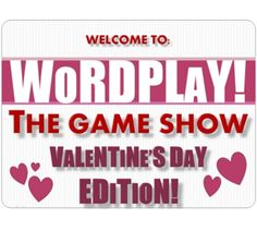 This is an adorable Valentine's Day Game Show for older grades!  How cute is this...and it's FREE :)