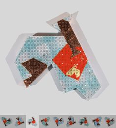 To gild the grey A. Cristales, pan de cobre, pan de oro, acrílico y papel de seda sobre cartón. 3,7 x 40 x 40 cm. 2010.