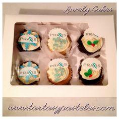 Cupcakes Navidad Praxis
