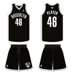 d1041c6945a Brooklyn Nets Road Logo on Chris Creamer's Sports Logos Page - SportsLogos.  A virtual museum of sports logos, uniforms and historical items.