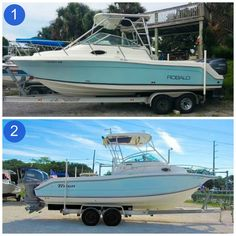 You call it: 2004 Robalo 265 Walkaround OR 2004 Triton Walkaround? Utility Boat, Sport Fishing Boats, Boat Interior, Boat Stuff, Used Boats, Boat Design, Center Console, Power Boats, Boats For Sale