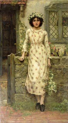 Queen of May by Herbert Gustave Schmalz