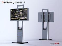 Resultado de imagen para interactive kiosk design