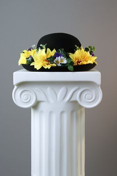 My bowler hat creation for the image, 'Hopes and Dreams'.